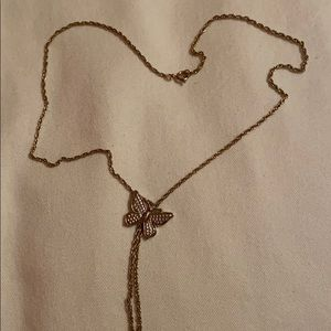 Avon Adorable Young Girl's Butterfly Necklace